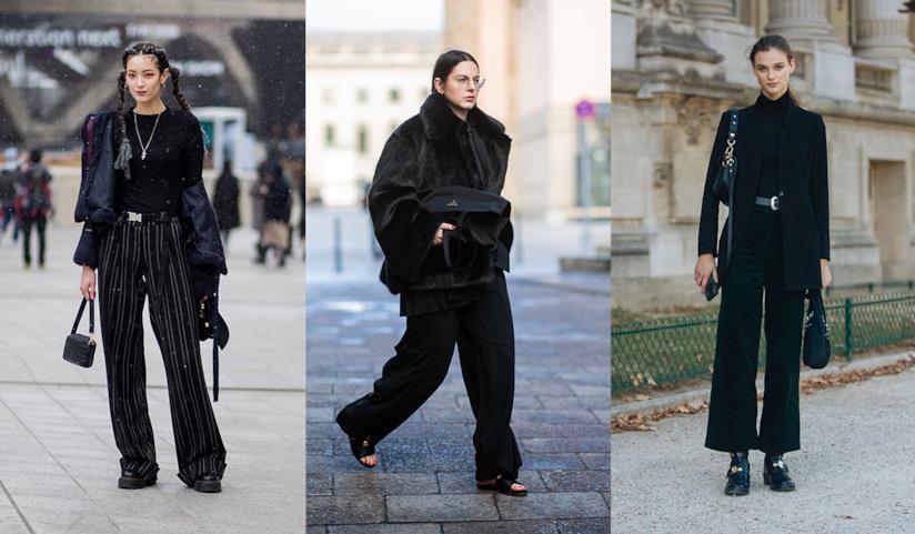 a187419c8176 Moda donna: i pantaloni neri a palazzo da avere subito nel tuo armadio