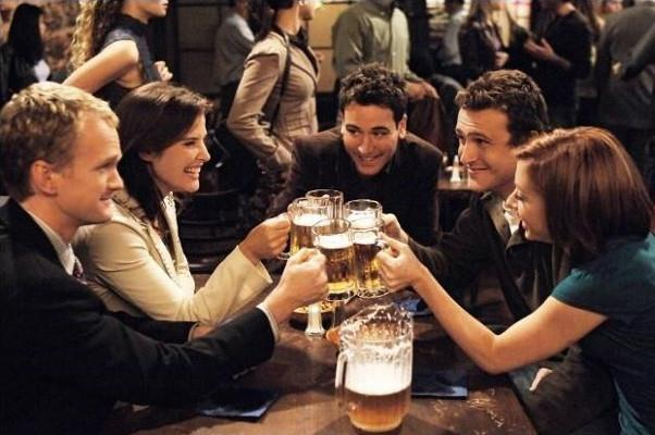 Barney, Robin, Ted, Marshall e Lily di How I Met Your Mother