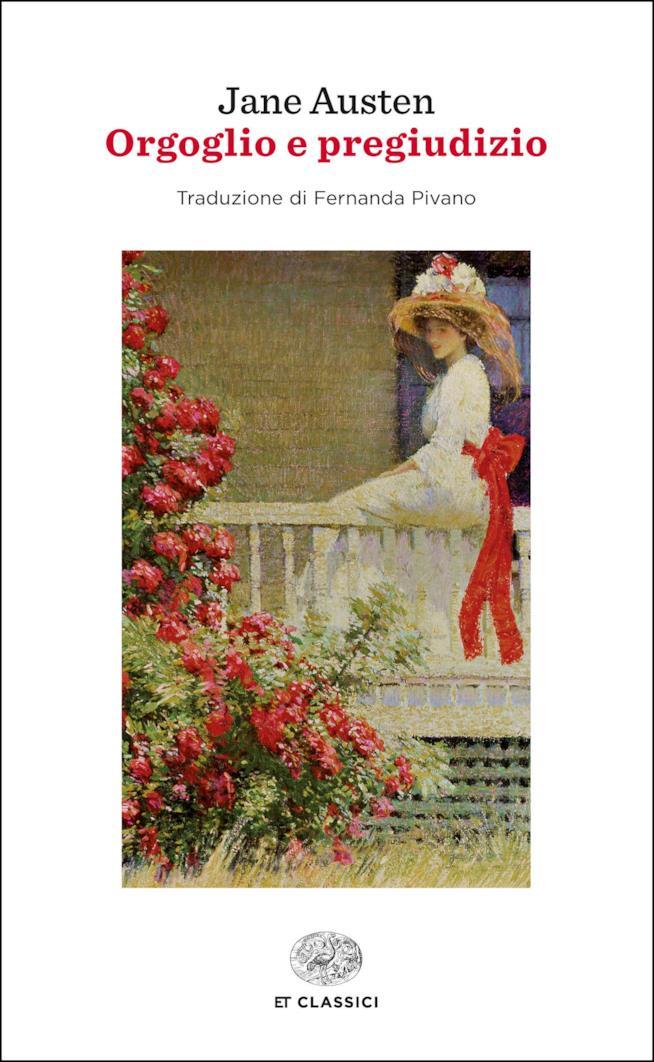 La copertina di Orgoglio e Pregiudizio nell'edizione Einaudi