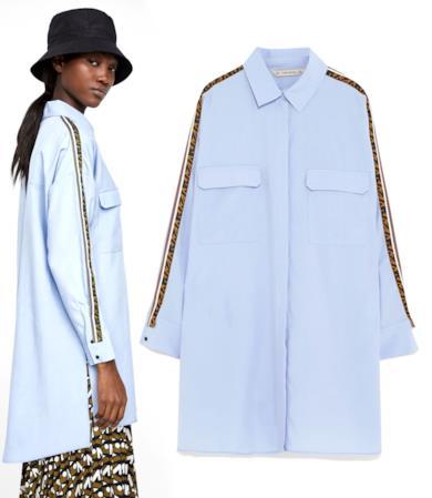 Camicia con logo Zara