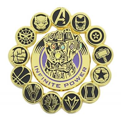 Avengers spillette Guanto dell'infinito