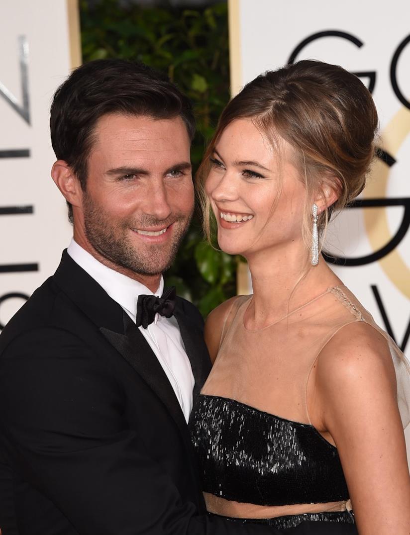 Adam Levine e la moglie Behati Prinsloo