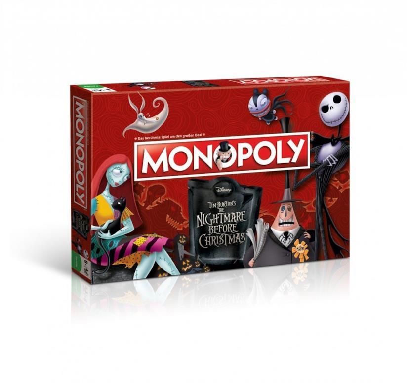 La versione di Monopoli ispirata al film Nightmare Before Christmas