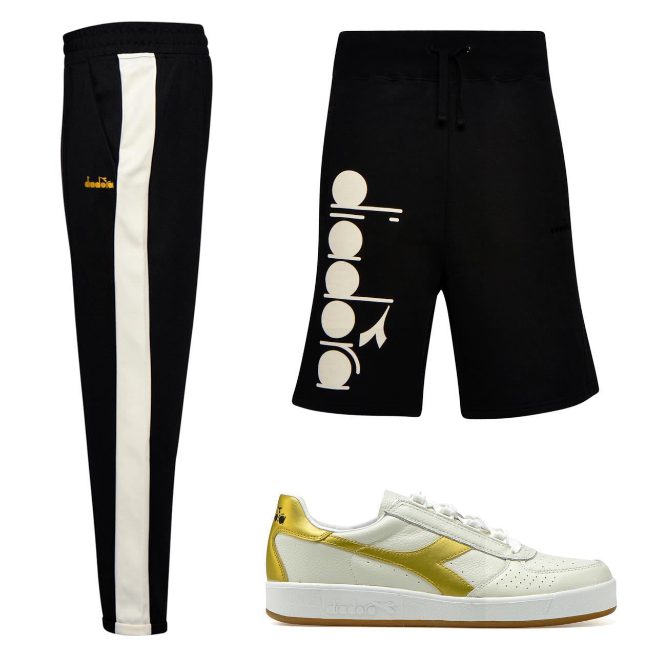 Diadora Sportswear Pantaloni sportivi e Bermuda con logo uomo 3016dd95f99