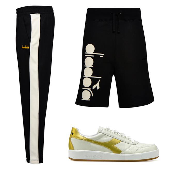 Diadora Sportswear Pantaloni sportivi e Bermuda con logo uomo