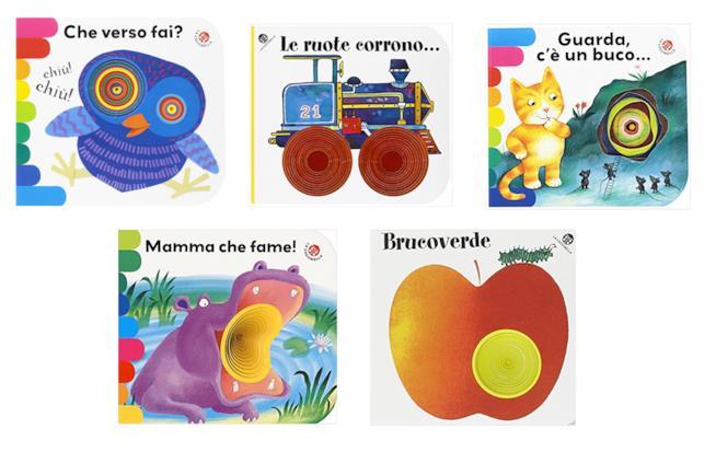 I libri coi buchi di Coccinella