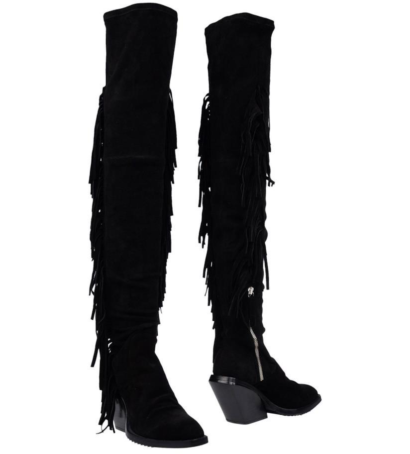 In stile boho-chic gli stivali di Cinzia Araia