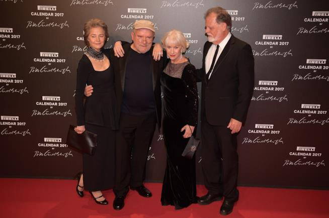 Charlotte Rampling, Helen Mirren, Peter Lindbergh Calendario Pirelli 2017