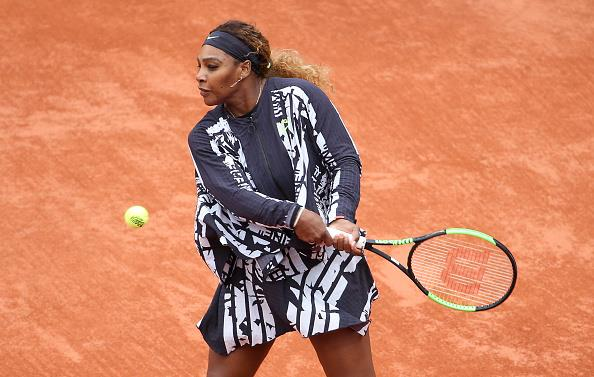 Outfit by Off-White™ x Nike Open Francia 2019 Serena Wiliams