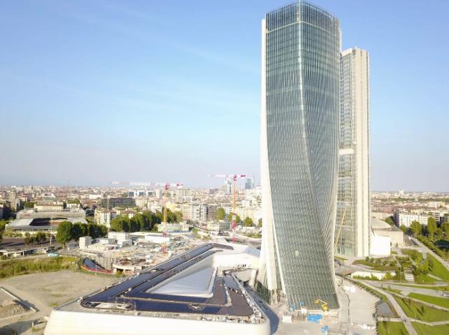 Torre Hadid Milano, uno dei grattacielo dello Skyline di Milano
