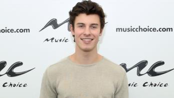 Il cantante Shawn Mendes