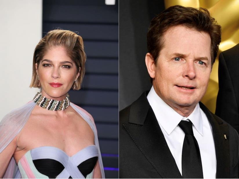 Selma Blair e Michael J. Fox