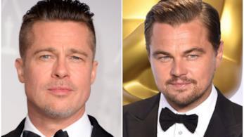 Collage tra Brad Pitt e Leonardo DiCaprio