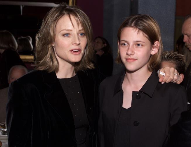 Le attrici Kristen Stewart e Jodie Foster
