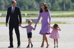 Il Principe William, la moglie Kate Middleton e i loro figli