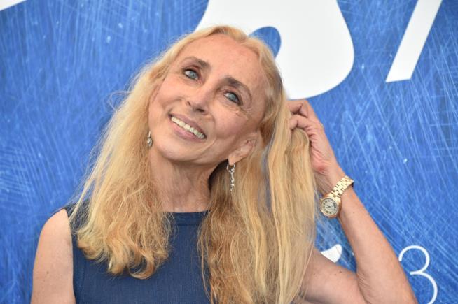 Franca Sozzani in primo piano