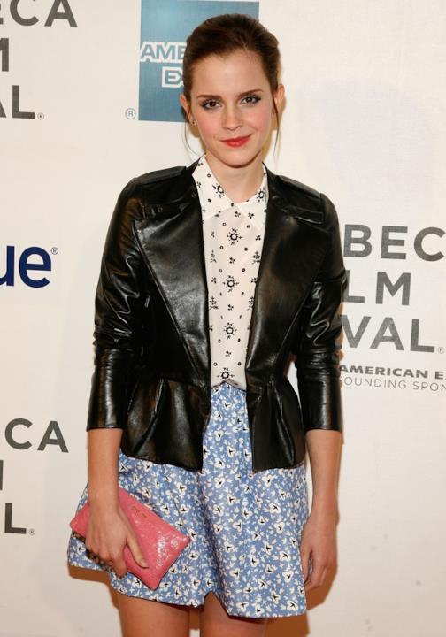 Uno dei look casual e informali sfoggiati da Emma Watson negli ultimi anni