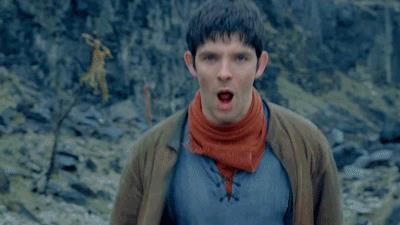 Merlino in una scena di Merlin
