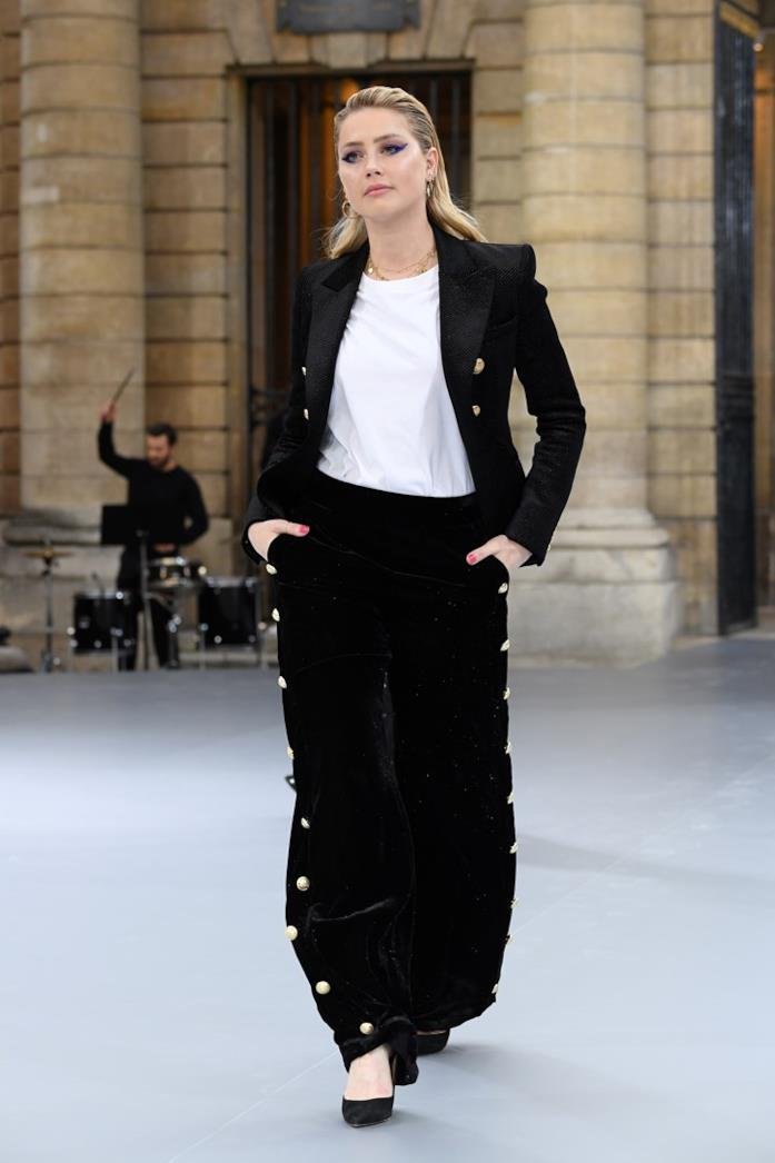 Amber Heard a Parigi