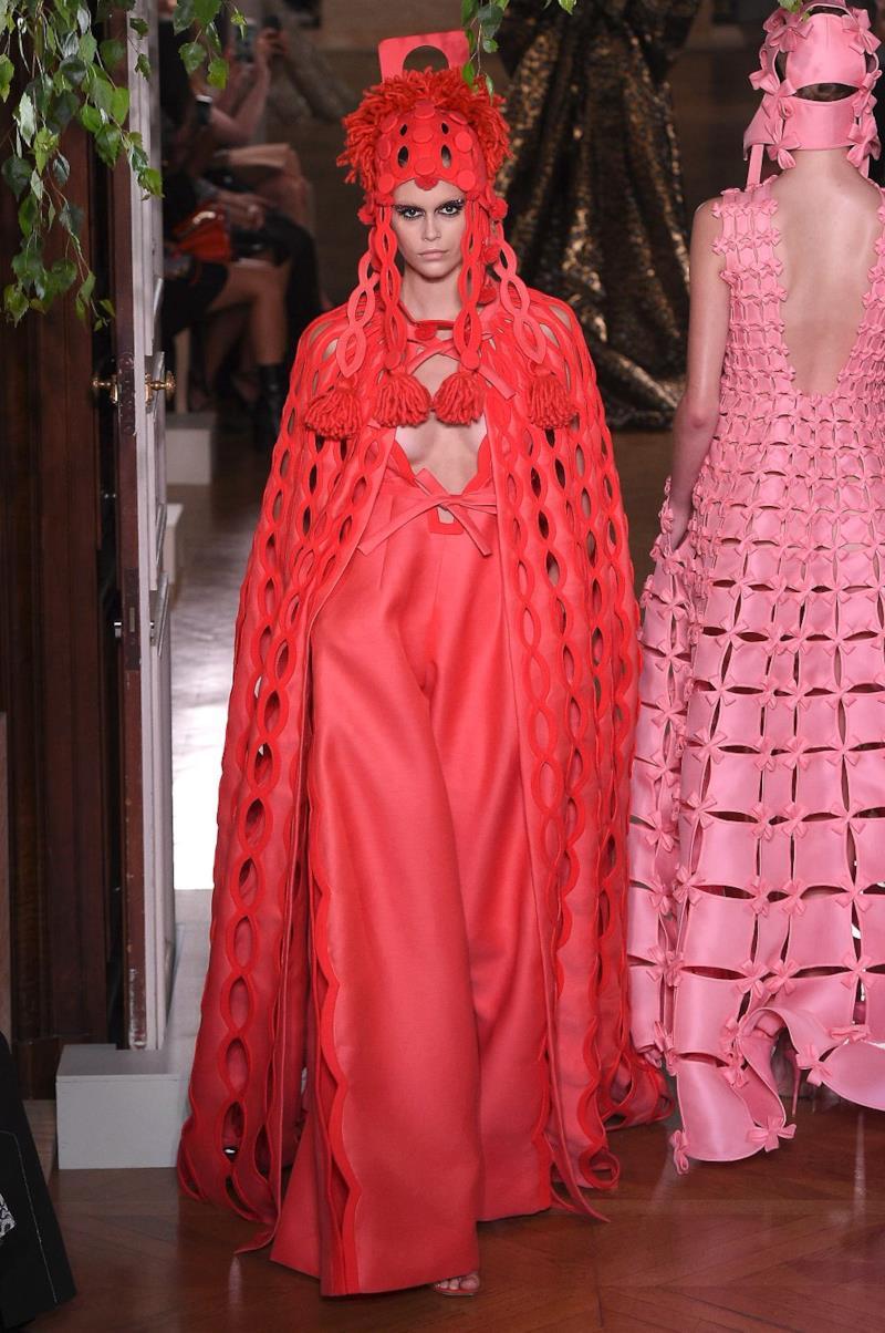 Sfilata VALENTINO Collezione Alta moda Autunno Inverno 19/20 Parigi - ISI_4239