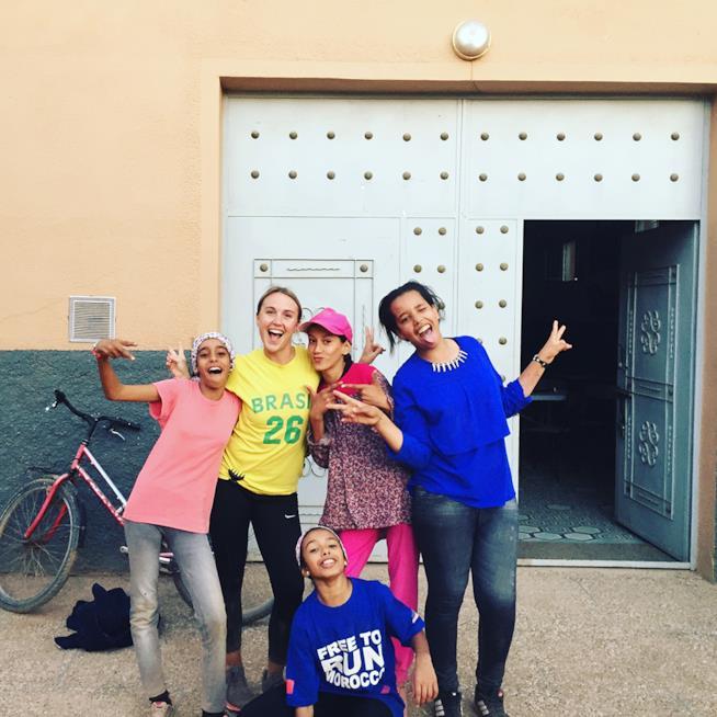 Alcune delle ragazze che partecipano a Project Soar
