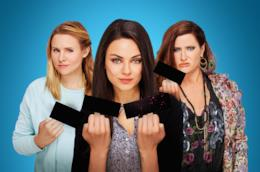 Mila Kunis, Kristen Bell, Kathryn Hahn in Bad Moms