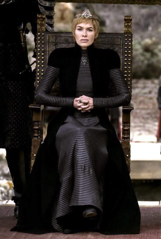 Cersei in un outfit strepitoso