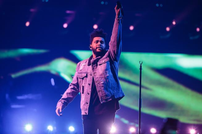 The Weeknd live