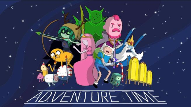 La locandina di Adventure Time - Vieni via con me