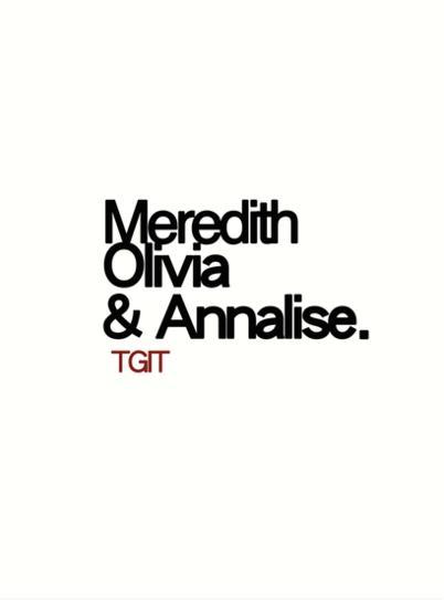 I nomi delle donne protagoniste delle serie di Shonda Rhimes