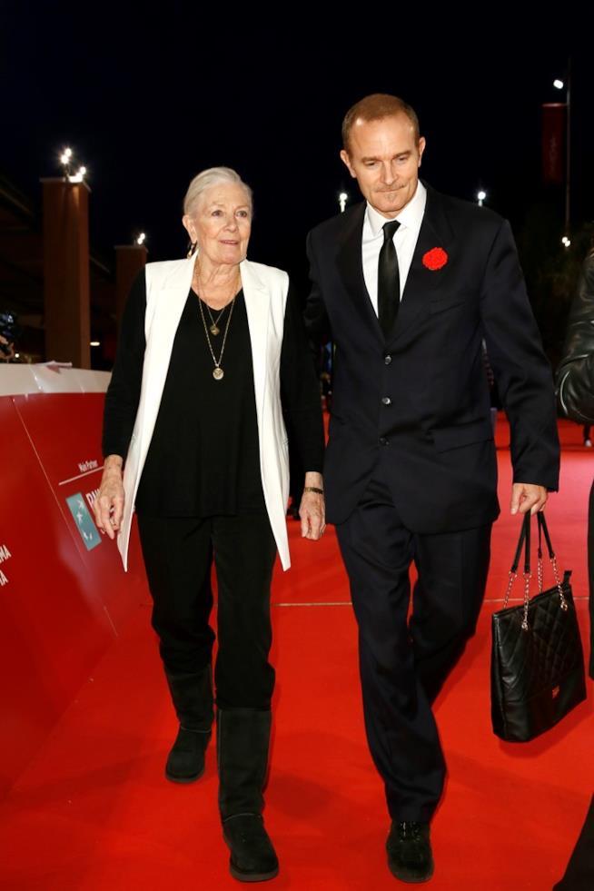 Vanessa Redgrave e Carlo Nero al Roma Film Fest 12