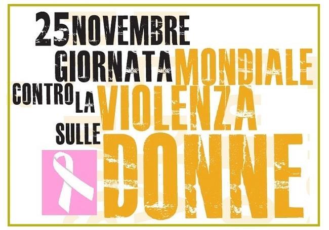 Manifesto per la giornata mondiale contro la violenza sulle donne