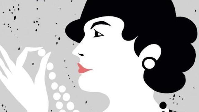 Coco Chanel in versione illustrata