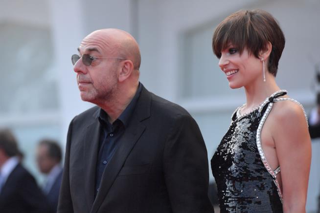Paolo Virzì e Micaela Ramazzotti sul red carpet