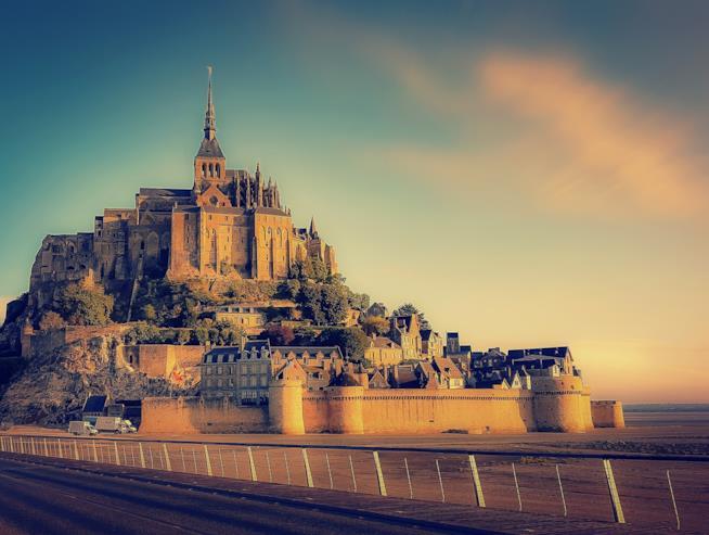 La bellezza di Mont Saint-Michel
