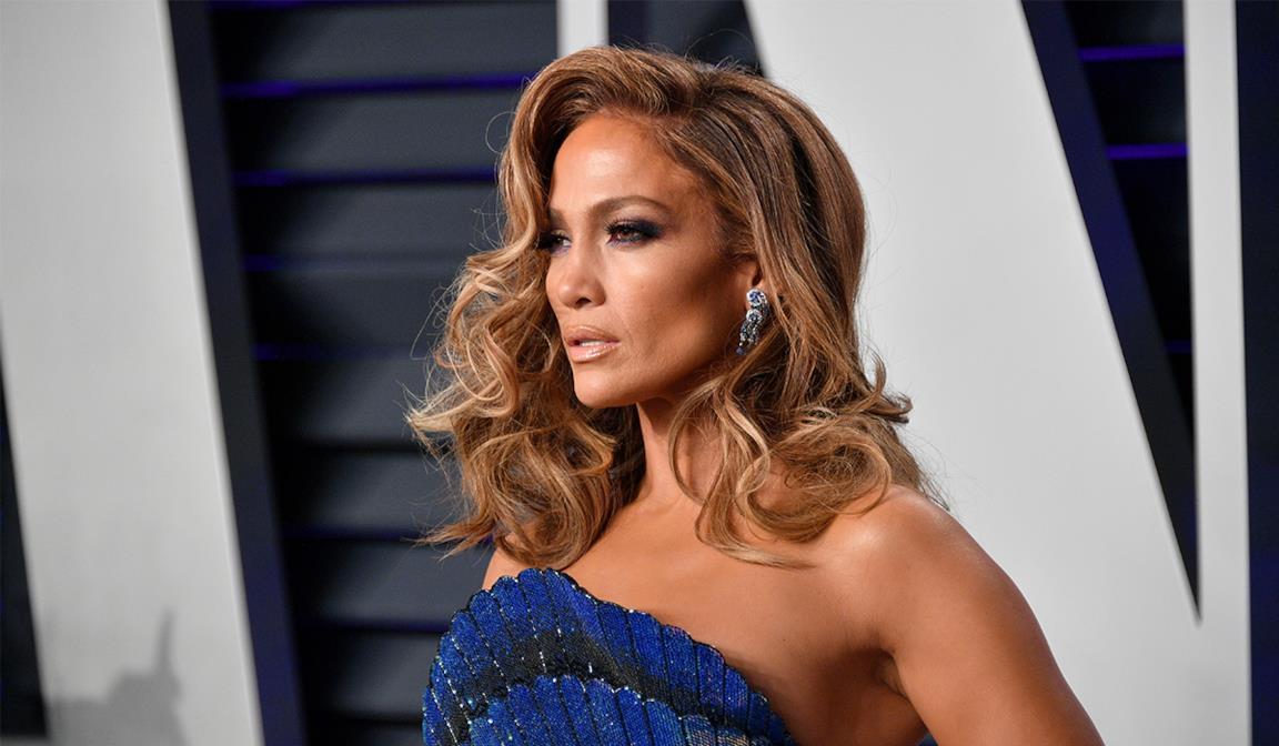 Un bel primo piano di Jennifer Lopez