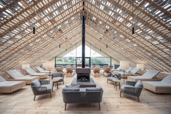 Hotel Lamm di Castelrotto: un'oasi spa con saune finlandesi e bagno turco
