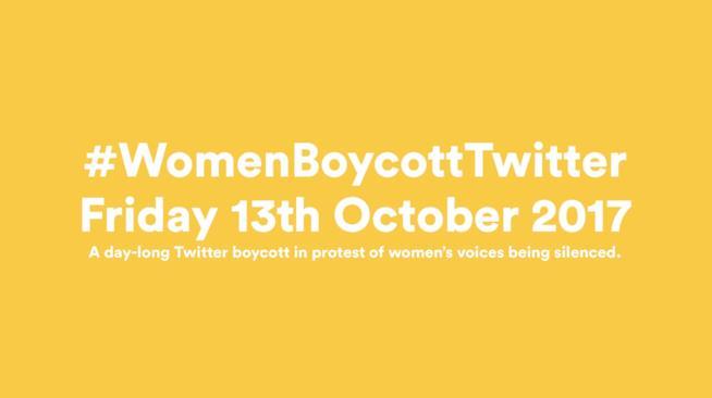L'iniziativa #WomenBoycottTwitter