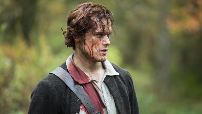 Sam Heughan, interprete di Jamie Fraser in Outlander