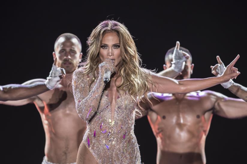 Jennifer Lopez dal vivo
