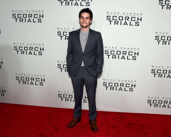 Dylan O'Brien alla première di Maze Runner