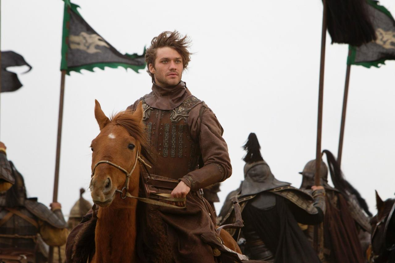 Lorenzo Richelmy nella serie TV Marco Polo