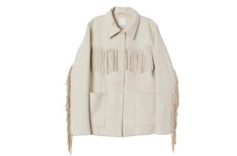 La giacca con le frange di H&m piace a tutti