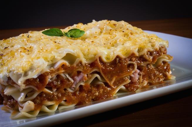 Una lasagna