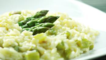 Riso asparagi e parmigiano