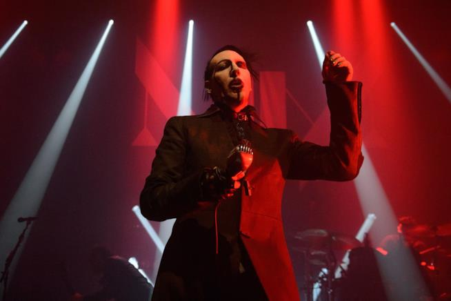 Marilyn Manson in concerto