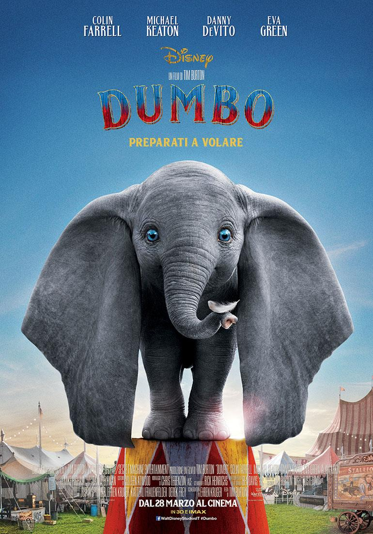 poster Dumbo italiano