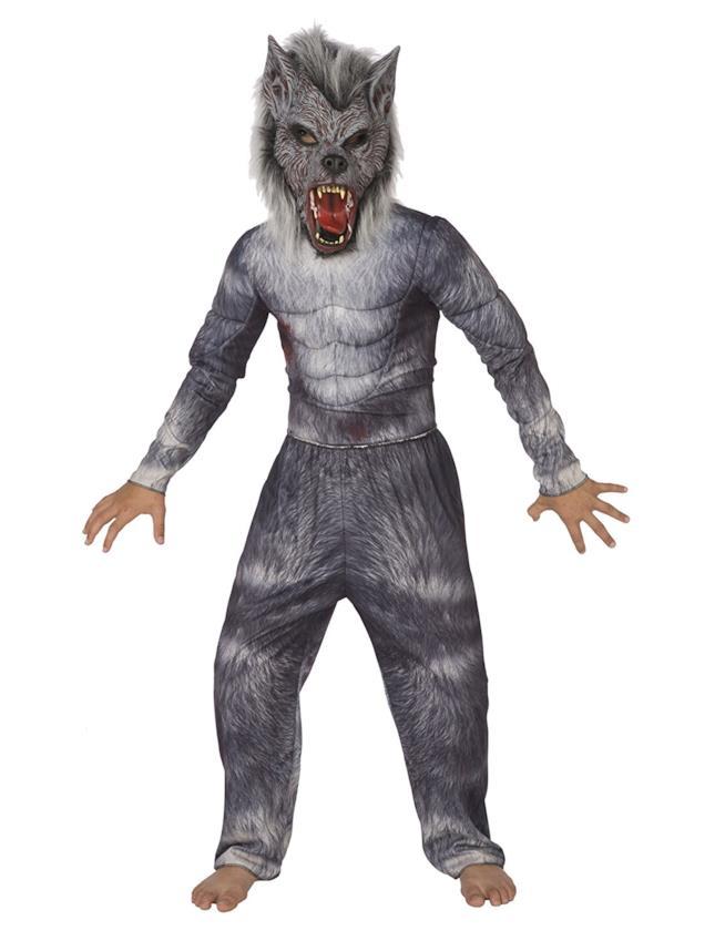Costume da lupo mannaro