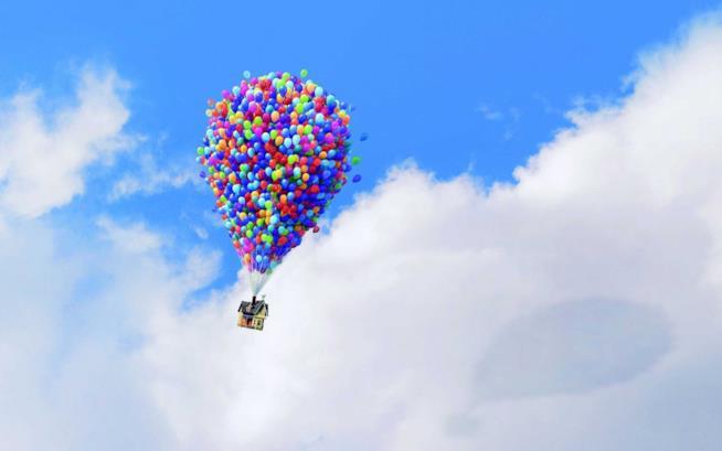 I palloncini nel film Up, amato dai Looner?