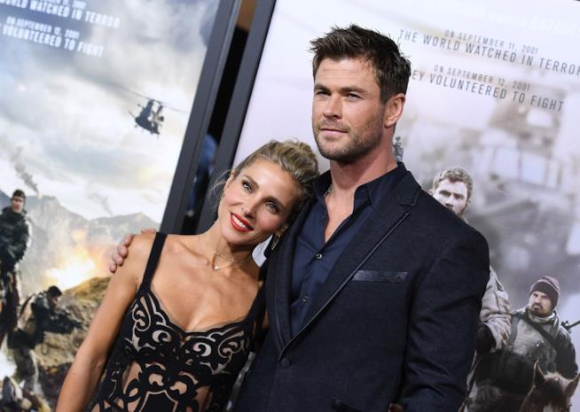 Elsa Pataky e Chris Hemsworth